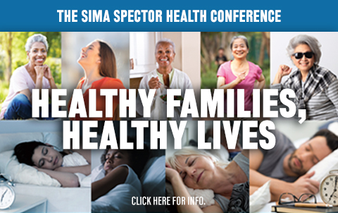 Sima Spector Healthy Lives Healthy Families Conference
