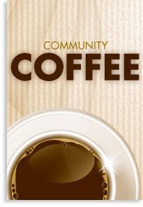Community Coffee E-Alert Graphic