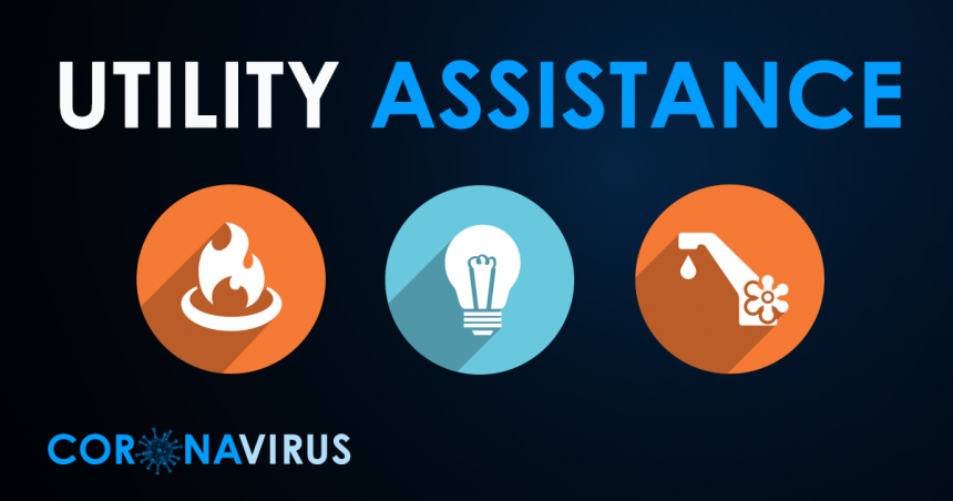 Coronavirus COVID-19 Utilities Assistance Graphic