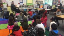 Thrilled to read Fox in Socks by the esteemed Dr. Seuss to the 1st and 2nd grade students of Cameron Ranch Elementary, in Carmichael.  Dr. Seuss reminds us that no matter our experience in reading, practice is important.  To this day, I still get all those ticks and clocks mixed up with the chicks and tocks!