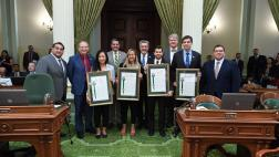 Assemblyman Ken Cooley and the California Legislature Recoginze the 2019 CCST Science Fellows