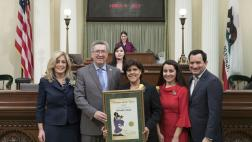 Assemblymember Cooley Honors Woman of the Year Michelle Callejas